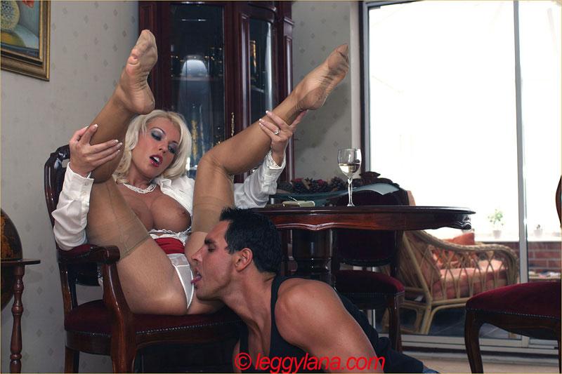With Guy Nylon Sex View Leggy 93