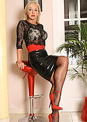 Mature hottie Amazing Astrid in black pantyhose