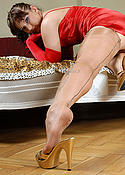 Hot slut is sexy Fully fashioned nylons