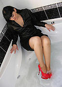 Wet Tanned Stockings Babe in the Bath